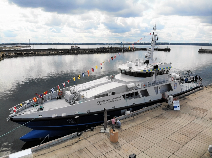 FOTOD JA VIDEO! PPA sai uue reostustõrjevõimekusega patrull-laeva