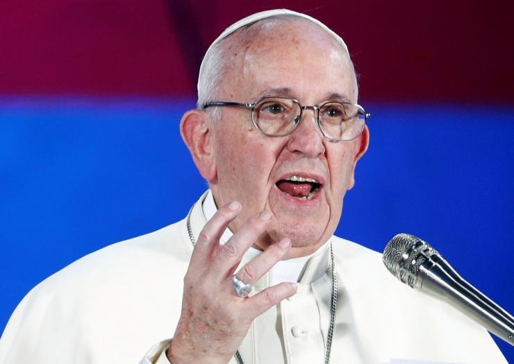 """Vatikan: paavst on USA """"elajalike"""" preestrite ohvrite poolel"""