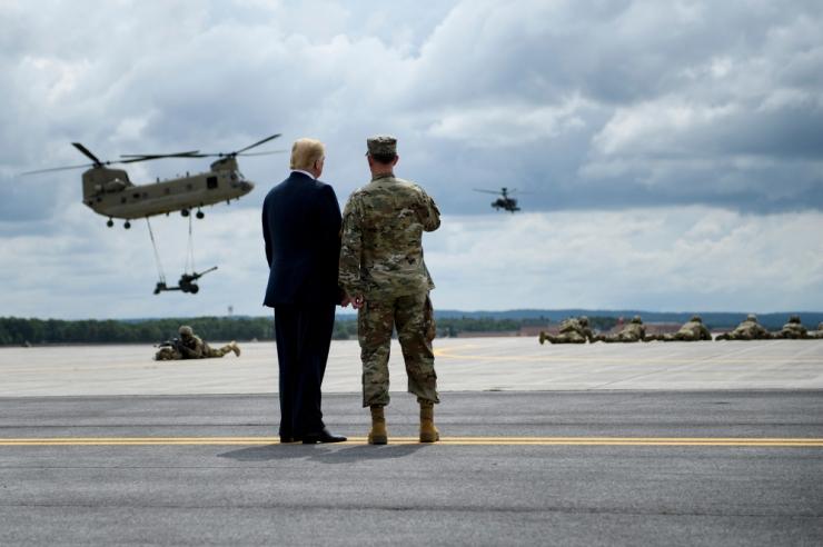 Pentagon: Trumpi kavandatav sõjaväeparaad lükatakse edasi