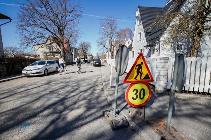 Energia tänaval algab taastusremont