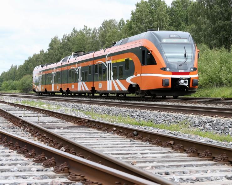 Saue valla elanikud saavad nautida tasuta rongisõitu