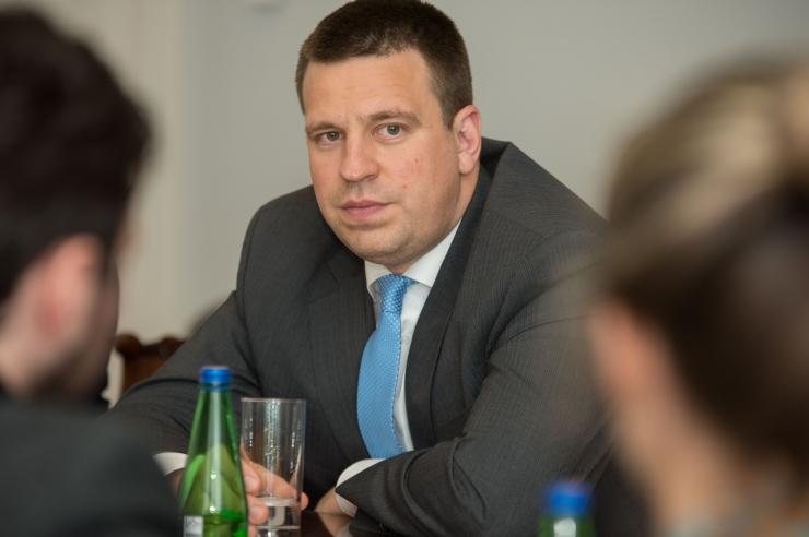 Keskpartei kongressil soovib Tallinna kolm piirkonda peaminister Jüri Ratase jätkamist