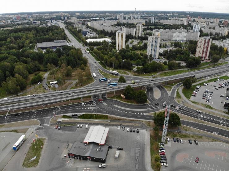 Taavi Aas Haabersti ristmiku avamisel: üks suur ajajärk Tallinnas on läbi saanud