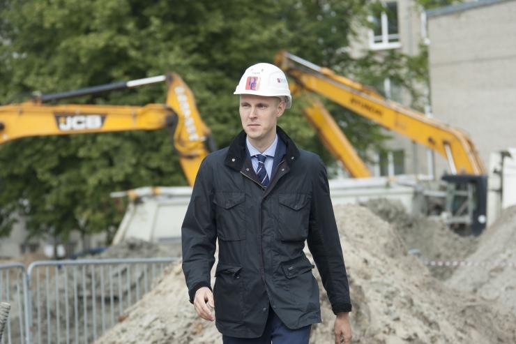 Raimond Kaljulaid: Tallinnal ei ole kavatsust läbi Merimetsa teed rajada