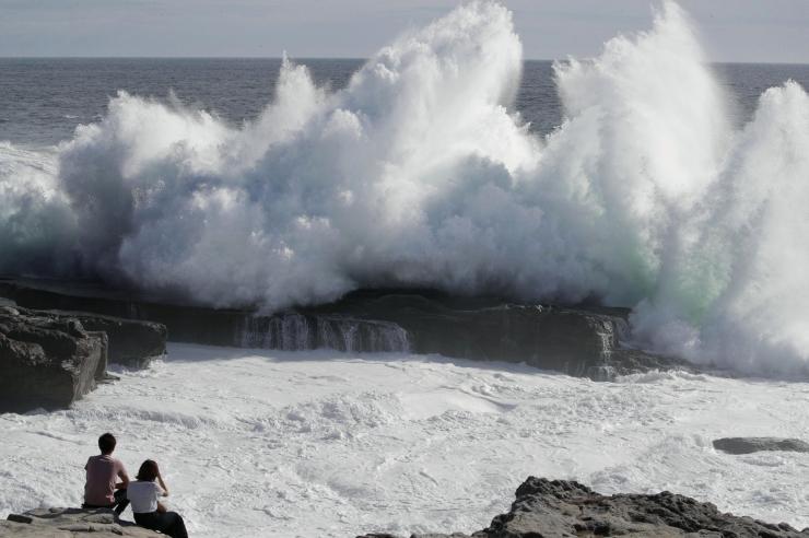 Jaapanis maabunud taifuun Jebi on viimase 25 aasta tugevaim