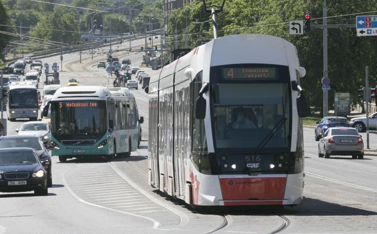 Tallinna Maraton ja Sügisjooks seiskab trammiliikluse
