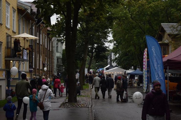 Kirjandusfestival tuleb taas tänavale