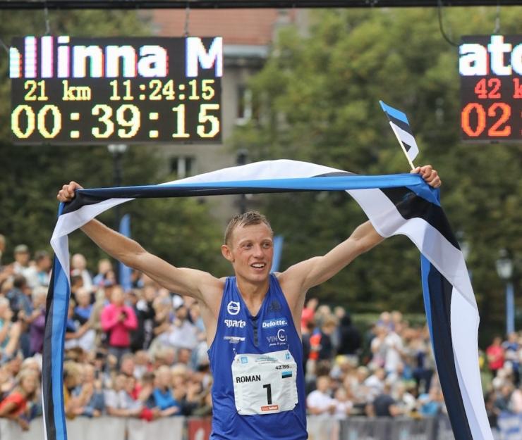 FOTOD! Tallinna Maratoni võit jäi Eesti juubeliaastal kodumaale