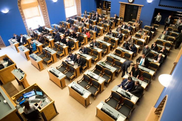 Riigikogu alustab homme uut istungjärku