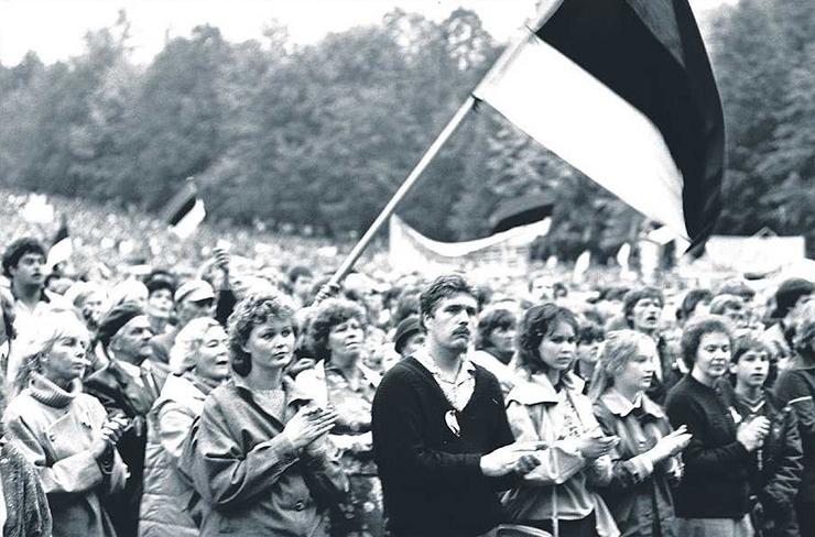 GERNDORF: Rahvarinne võttis inimestelt hirmu ja taastas iseseisvuse