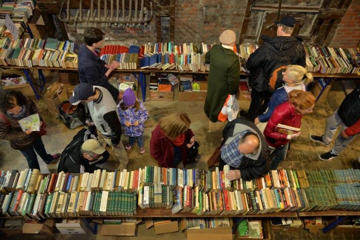 Tallinnas tuleb taaskord tasuta raamatute laat