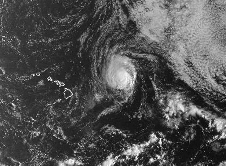 Hawaiile läheneb orkaan Olivia