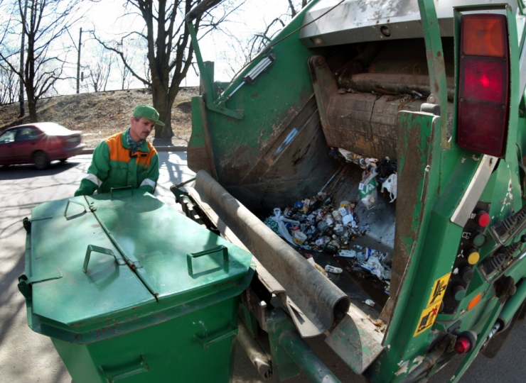 Kristiines rakendus korraldatud jäätmevedu hästi