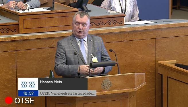 OTSE! Hannes Mets: mõnele noorele pole selgeks tehtudki, miks eesti keel vajalik o
