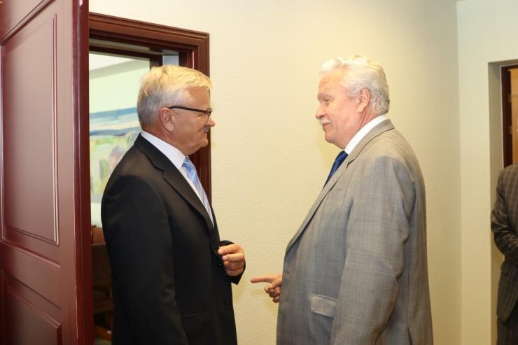 Eesti ja Läti maaeluministrid jagasid kogemusi põua teemal