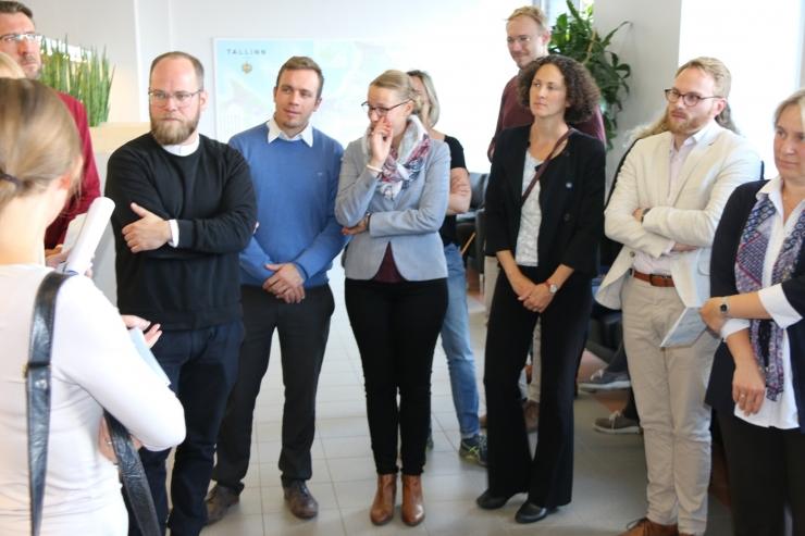 Berliini noored ametnikud tutvusid Tallinna e-lahenduste ja tasuta ühistranspordiga