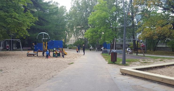Kesklinna lapsed ja noored said juurde mängu- ja spordivõimalusi