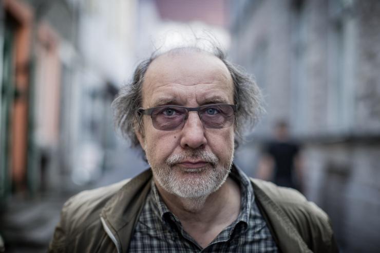 Suri näitleja ja lavastaja Roman Baskin