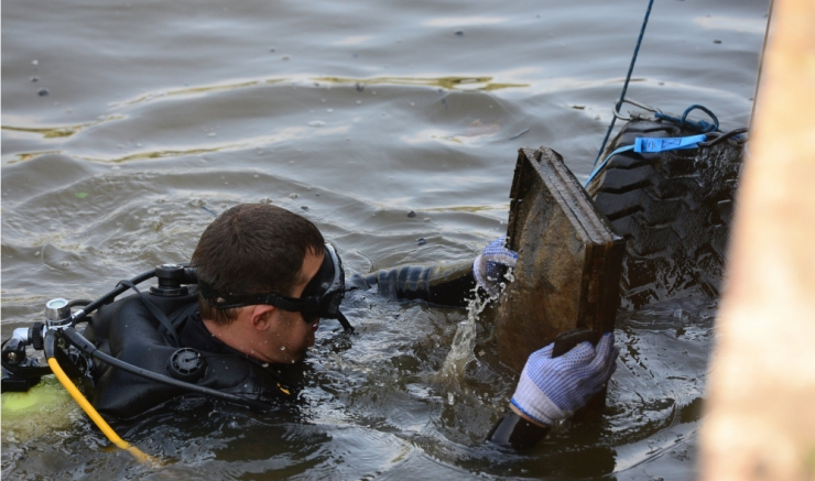 Maailmakoristuspäeval puhastatakse Lasnamäe Pae järve veeala