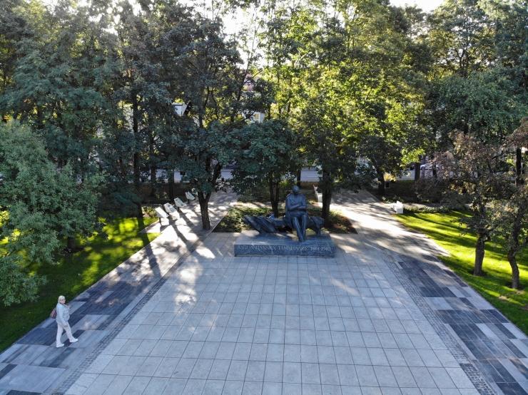 Droonivideo ja fotod uuest Tammsaare pargist! Taavi Aas: aega läks, aga asja sai!