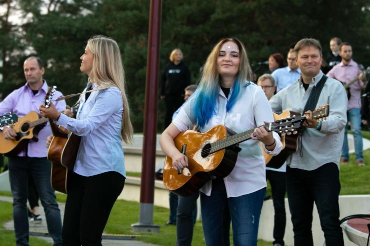 """FOTOD JA VIDEO! TTÜ 100. juubeliks tuli esitlusele rock-ooper """"Neli tilka digitaali"""""""