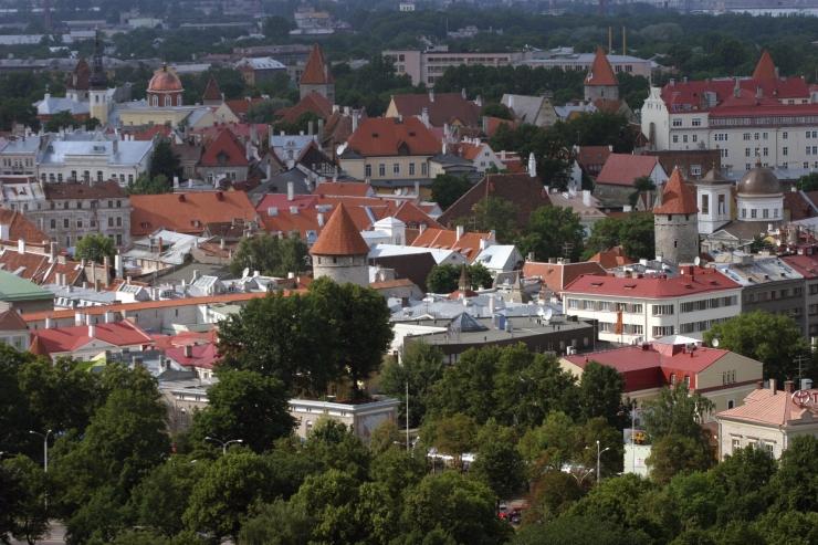 Näitusel näeb Tallinna linnaruumi kunstniku silme läbi