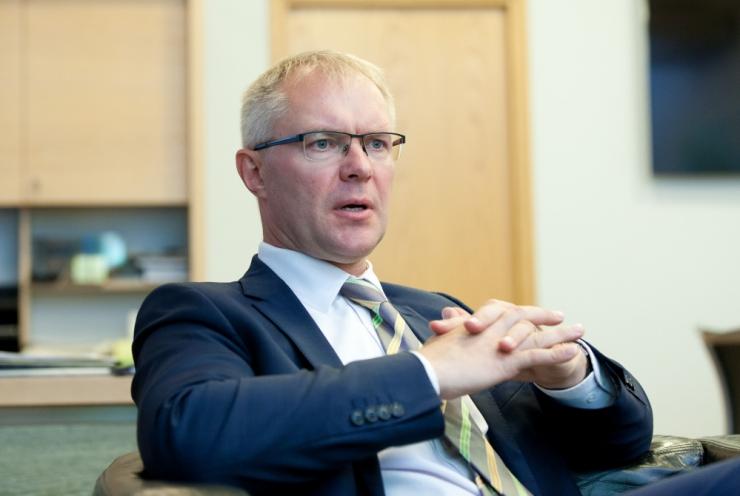 Sotsiaaldemokraat Hannes Hanso lahkub poliitikast