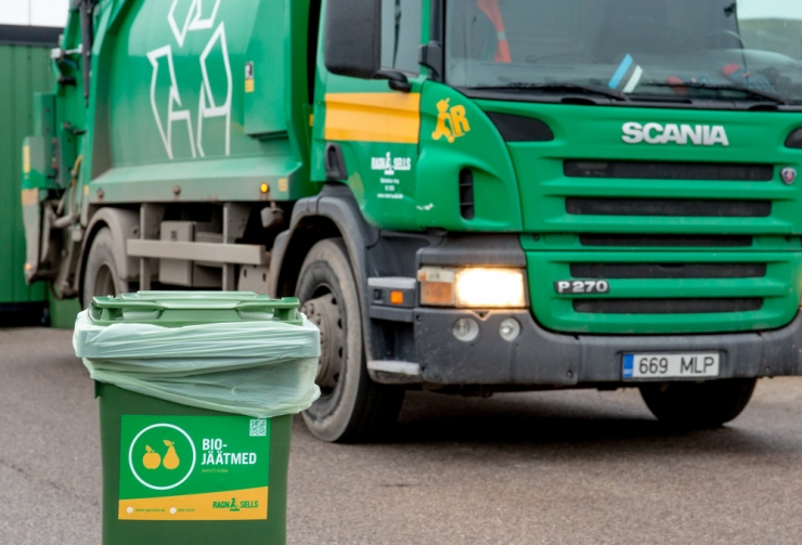 Haaberstis rakenduv korraldatud jäätmevedu toob hinnalanguse ja uued veokid