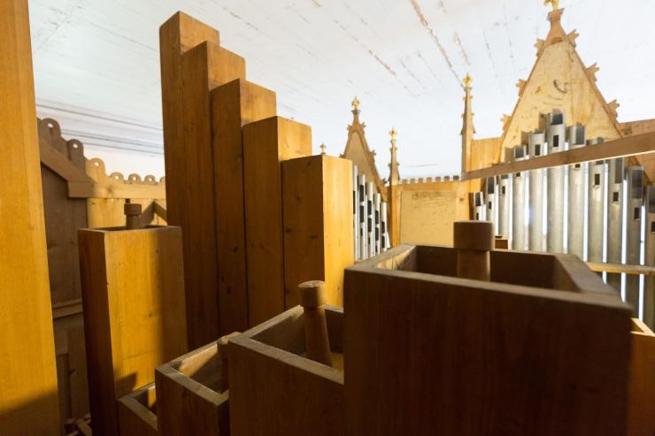 Kihelkonna kiriku oreli remont läks maksma ligi 90 000 eurot