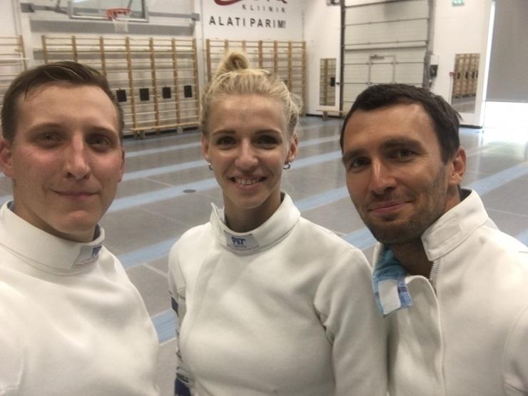 """""""Spordisõbrad"""" testivad Euroopa meistri Katrina Lehise vormi"""