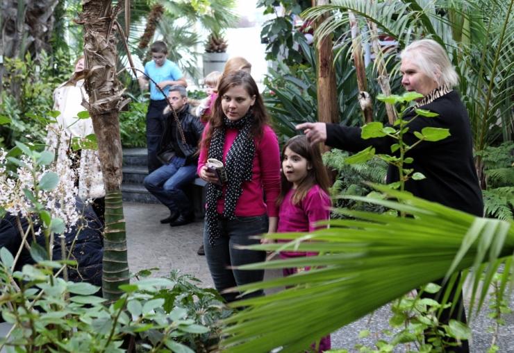 Tallinna Botaanikaaed kutsub huvitavate toidutaimede näitusele