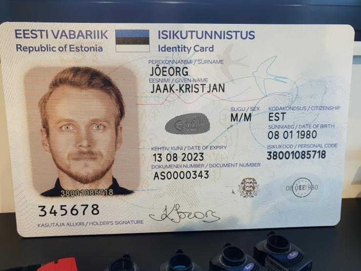 VIDEO: PPA tutvustas uut ID-kaarti