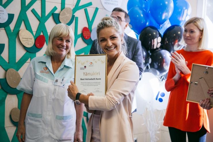 FOTOD: Pelgulinna sünnitusmajas avati Eestis ainulaadne kodune sünnitustuba