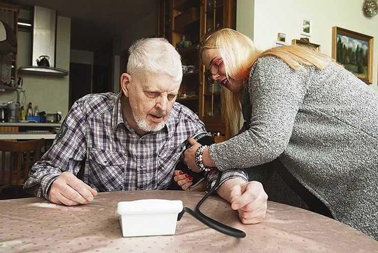 Uues seenioride majas võivad eakad elada nagu oma kodus