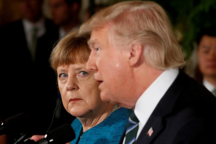 Merkel hoiatas Trumpi ÜRO hävitamise eest