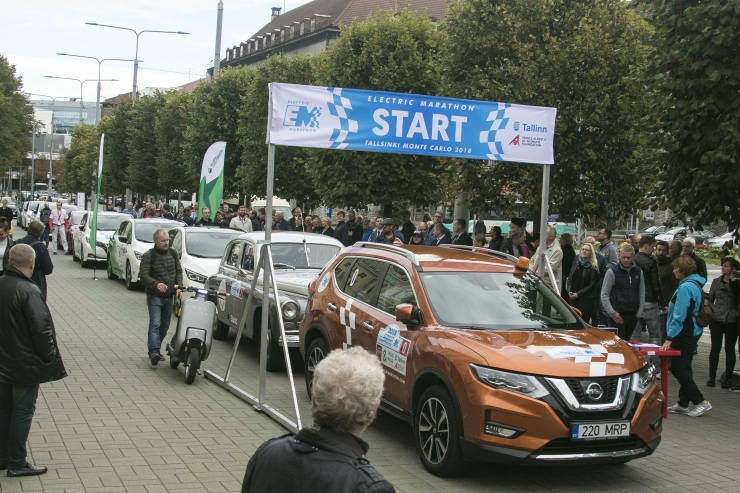 Elektriautode rallil võitsid Eesti meeskonnad peaauhinnad