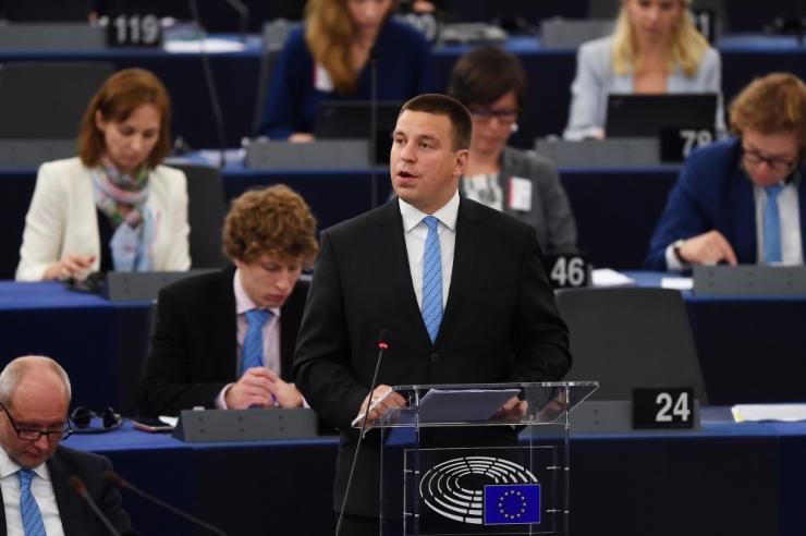 Udo Bullmann Jüri Ratasele: loodan, et tasuta ühistransport saab teoks kogu Euroopa Liidus