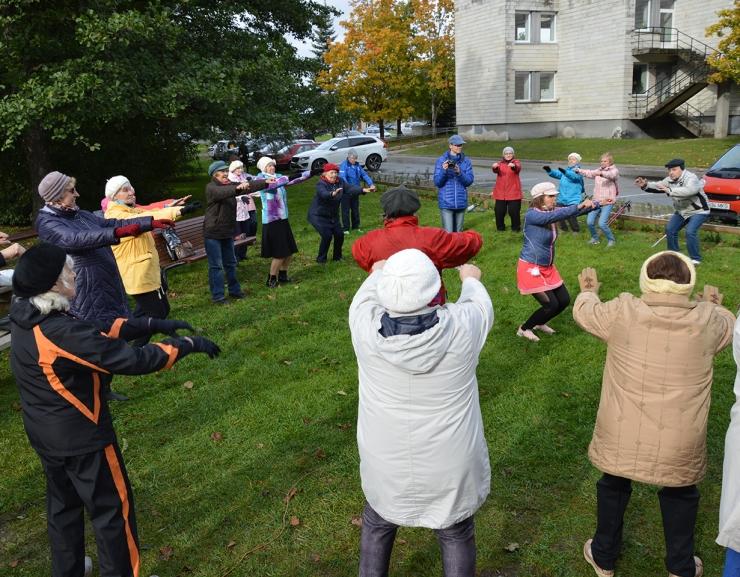 Löwenruh` pargis lõppes menuka välitreeningute sarja seitsmes hooaeg