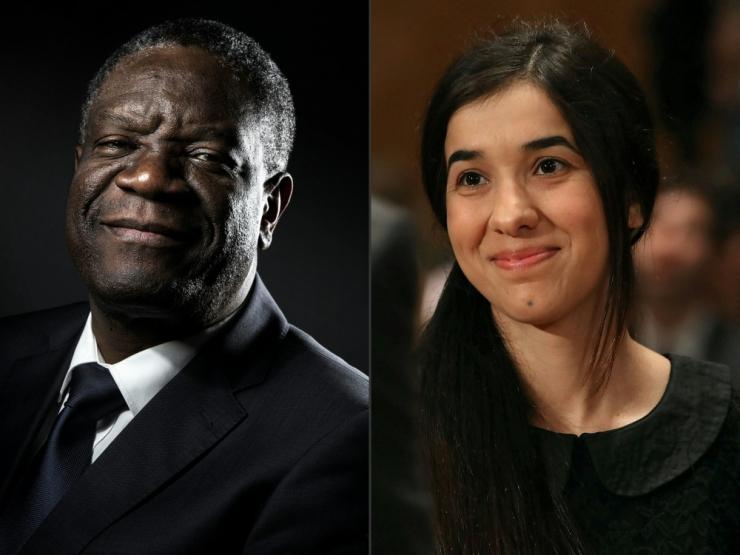 Nobeli rahupreemia said seksuaalvägivalla vastu võitlejad