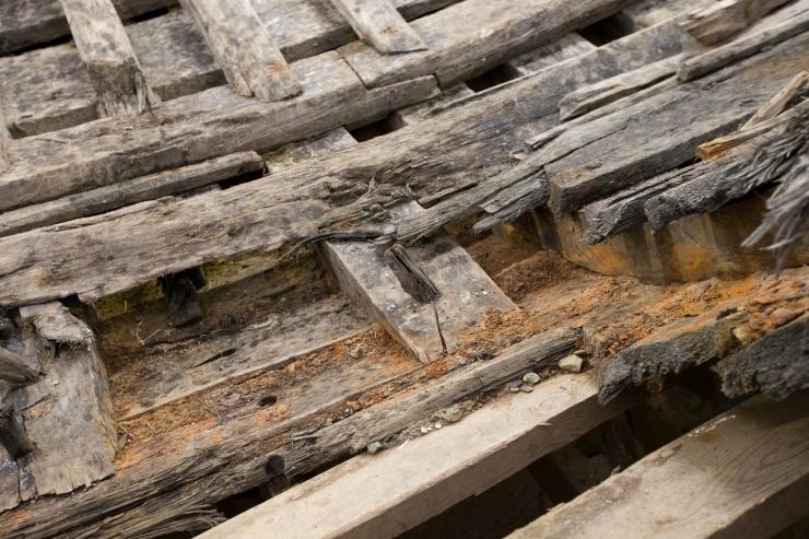Paksu Margareeta maapõu paljastas kaks keskaegset ehitist