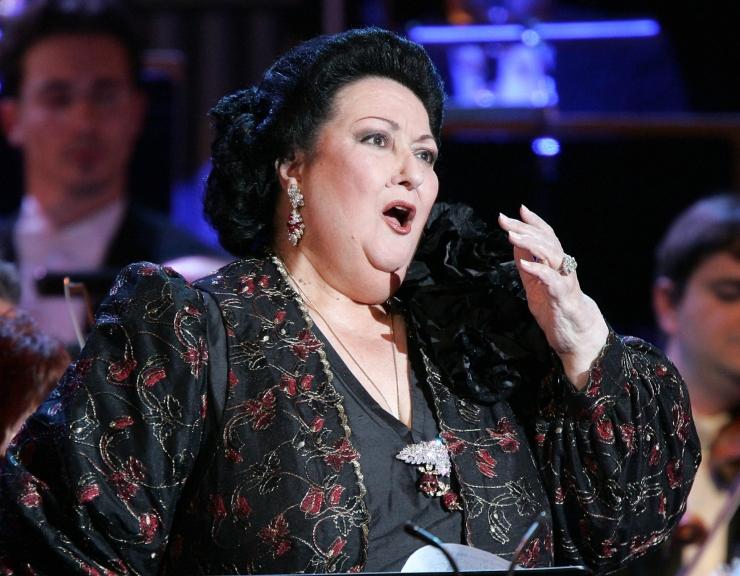 Suri hispaania ooperitäht Montserrat Caballé