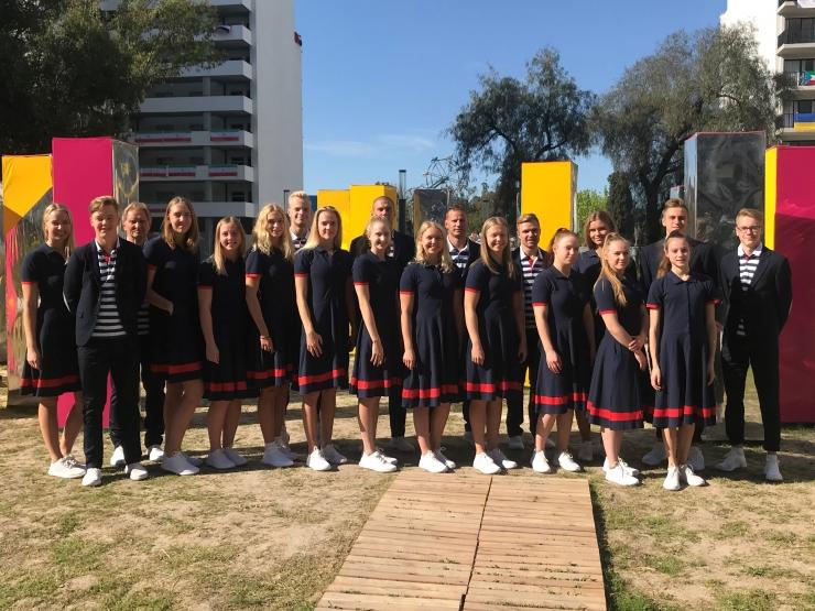 Noorte OM-i avapäeval on võistlustules Eesti korvpallurid, ujujad ja sõudja