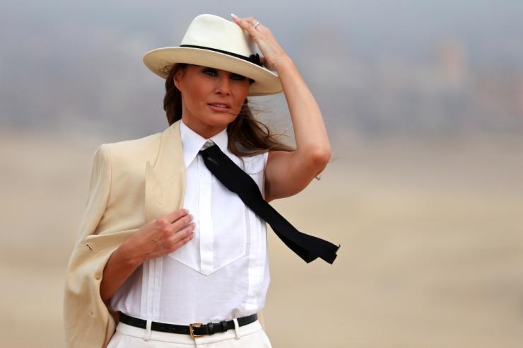Melania Trump: võin olla üks maailma tagakiusatumaid inimesi