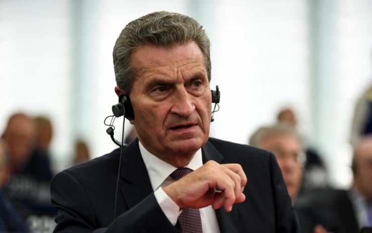Oettinger: majanduse õitsenguaeg on läbi saamas
