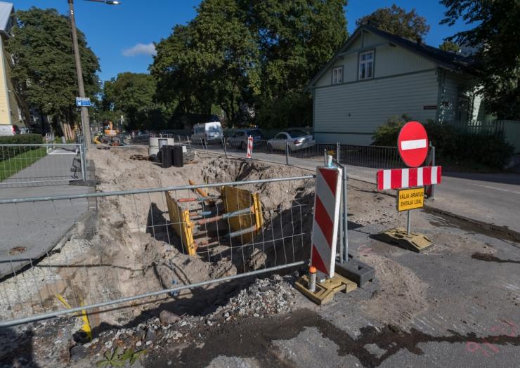 Homme alustatakse Vesivärava tänaval juurdepääsutee rekonstrueerimist