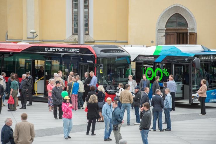 ROHELINE LIIKUMINE: Tallinna Linnatransport hangib sada uut gaasibussi