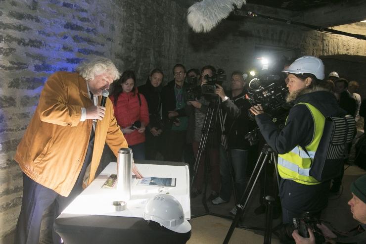 FOTOD! Paksu Margareeta muuseum-külastuskeskus sai nurgakivi