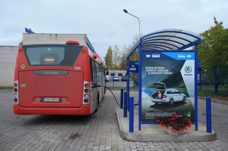 Uued gaasibussid hoiavad kokku üle 1,4 miljoni euro