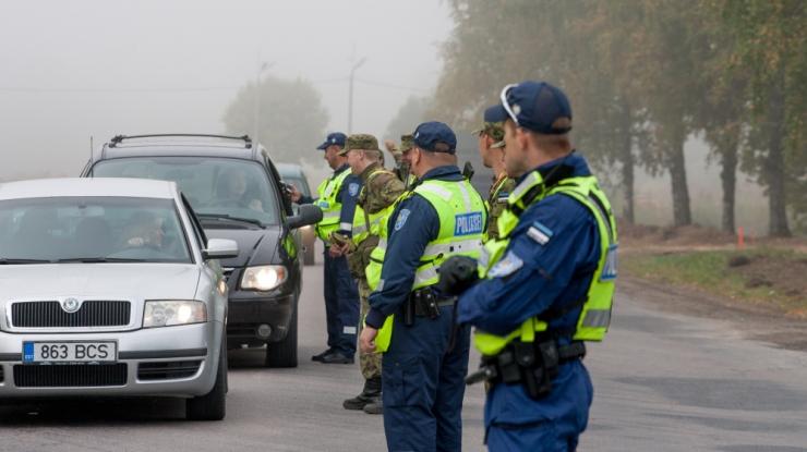 Politseinikud kontrollivad täna juhtide kainust