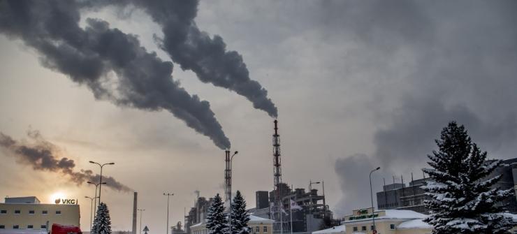 Keskkonnakomisjon arutab Kohtla-Järve linna elanike kollektiivset pöördumist linna õhu saastamise kohta